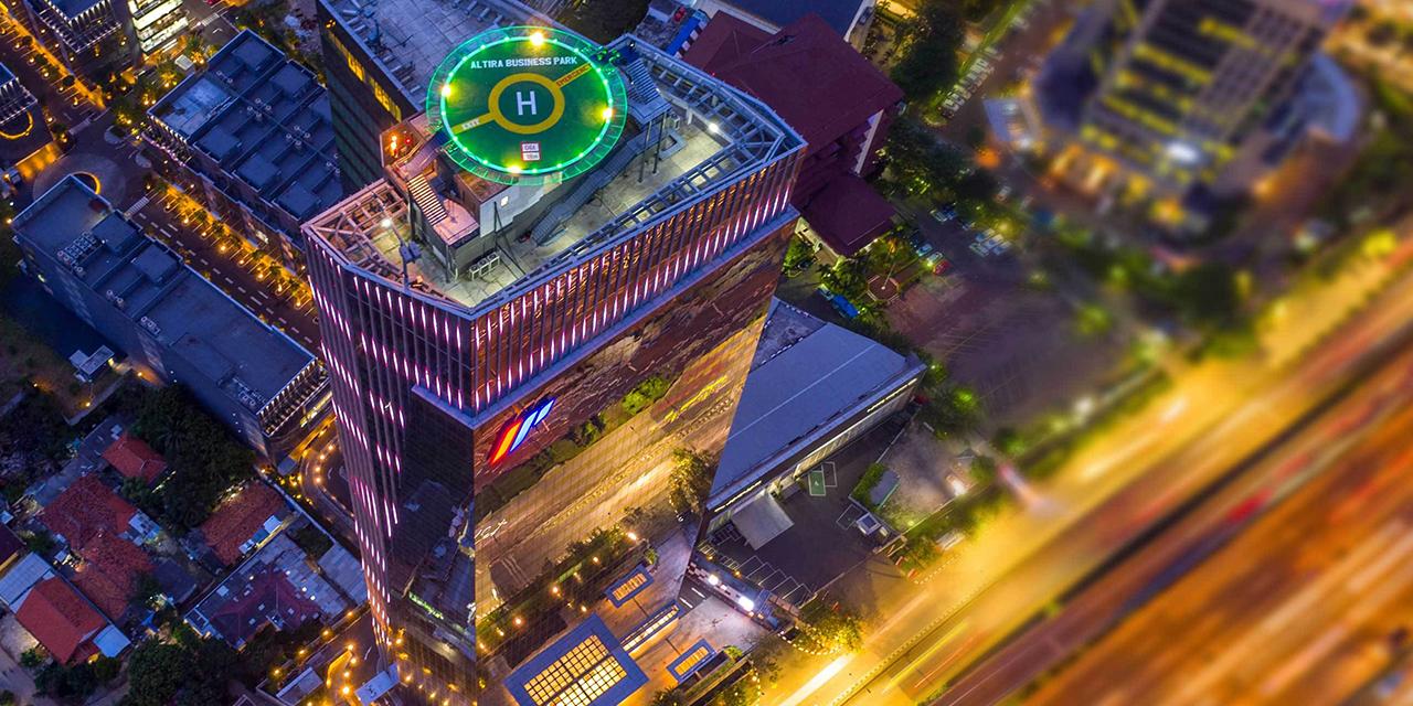altira tower sunter jakarta indonesia pt impack pratama industri tbk