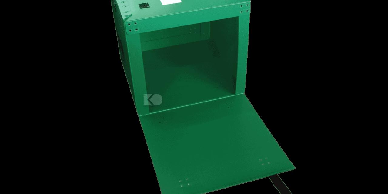 foldable box - box plastik tutup rekat
