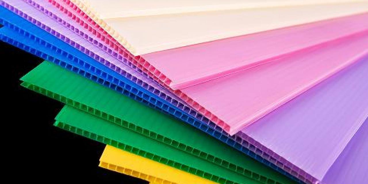 karton plastik papan plastik